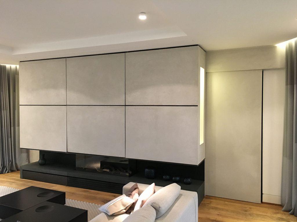 Wohnzimmer Beton Optik