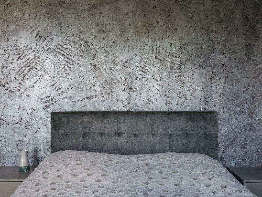 Spachteltechnik Schlafzimmer