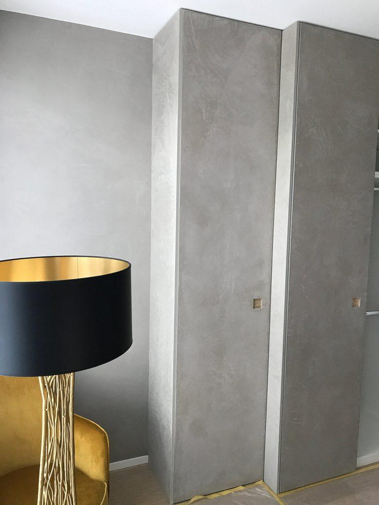 Wand Beton Optik