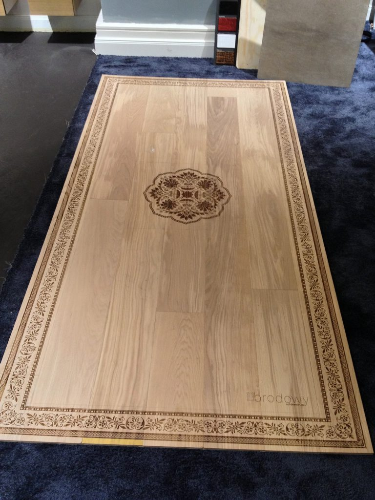 Holz Detail Verzierung