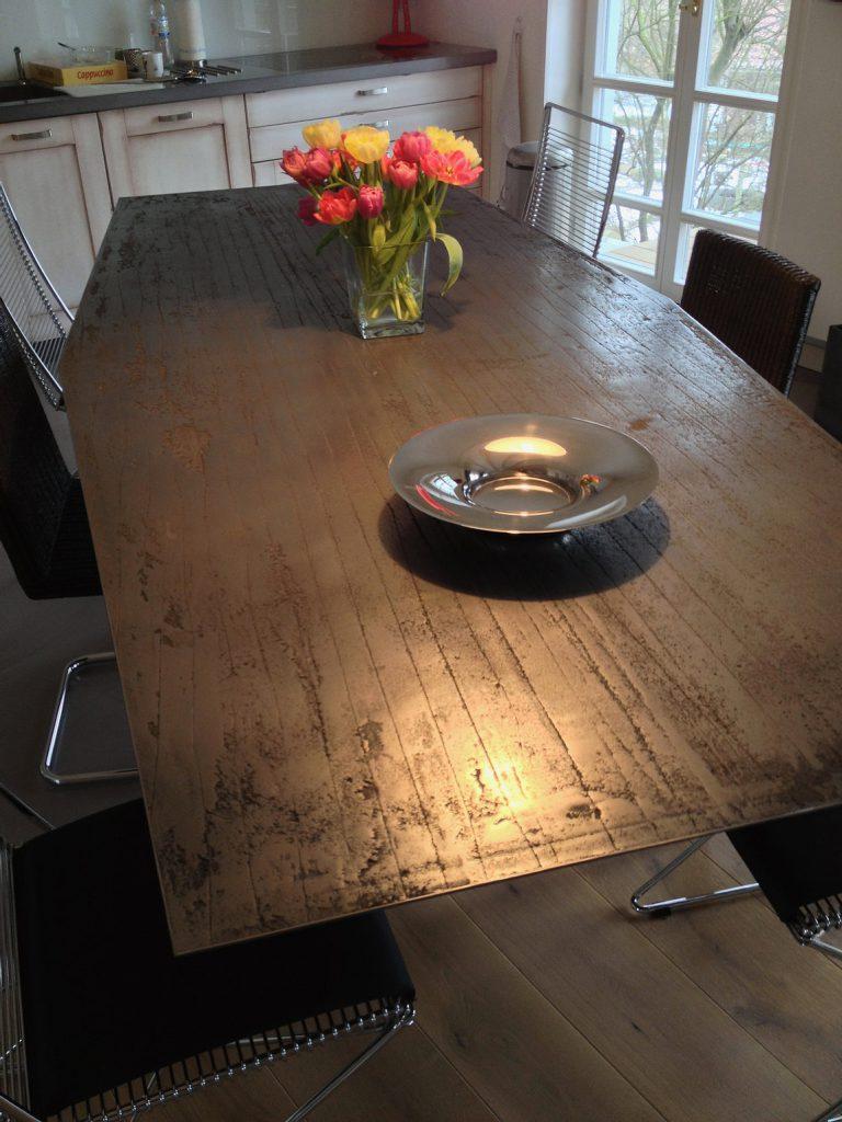 Exklusive Tisch Optik