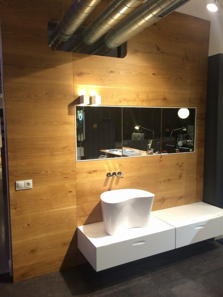 Design Waschbecken weiß