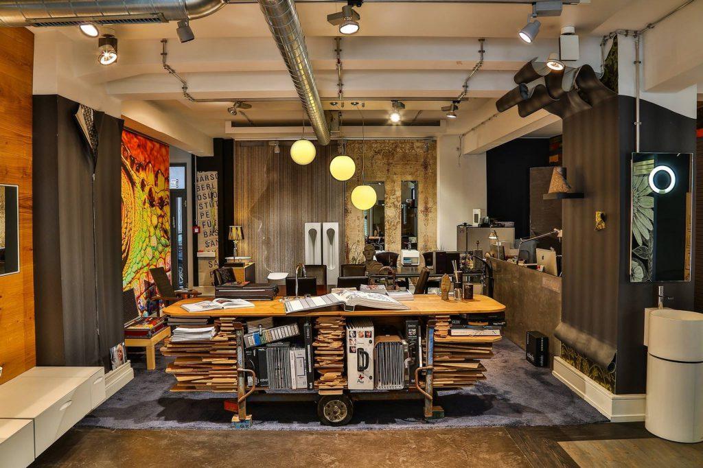 Ausstellung Raumkunst Materialien