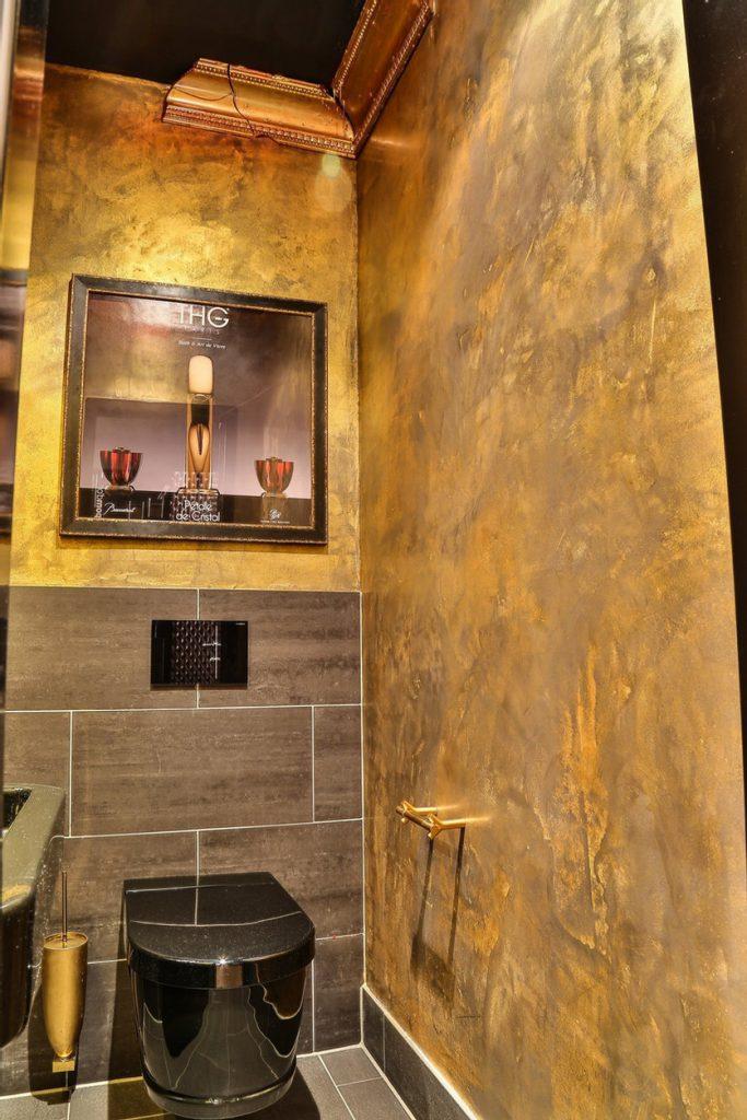 Raumkunst Badezimmerwand