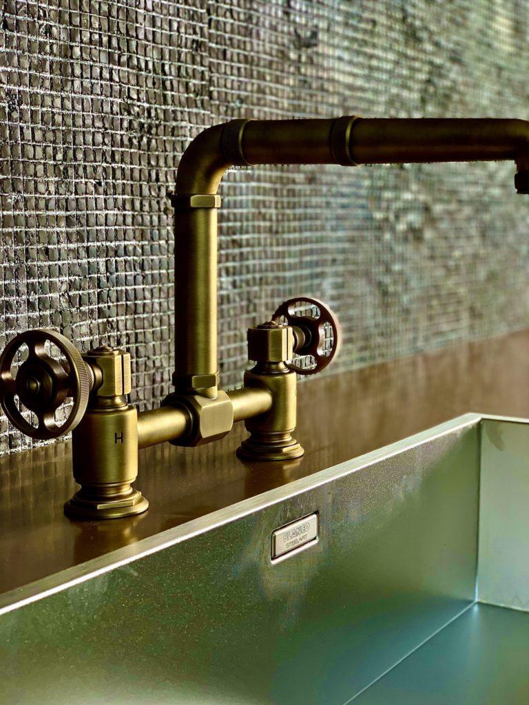 Retro Wasserhahn