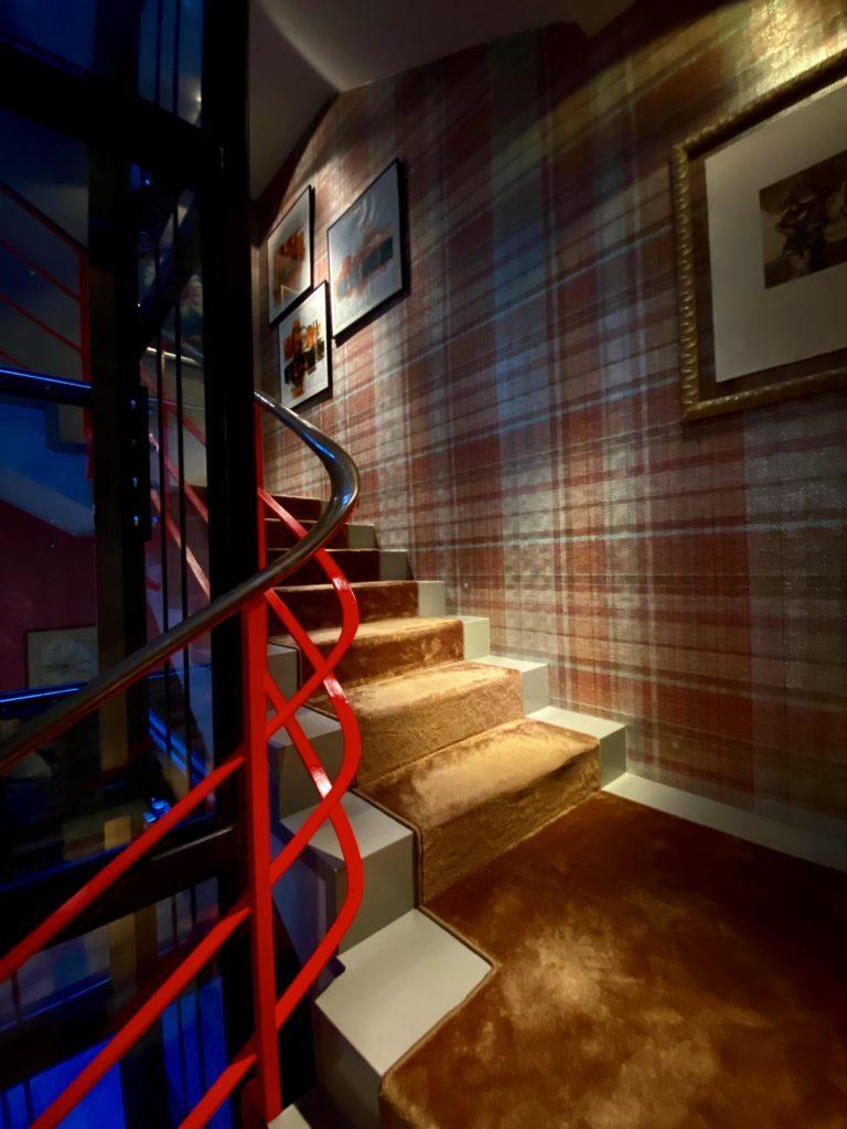 Treppenstufen Teppich