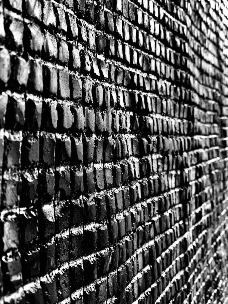 Steinwand Muster