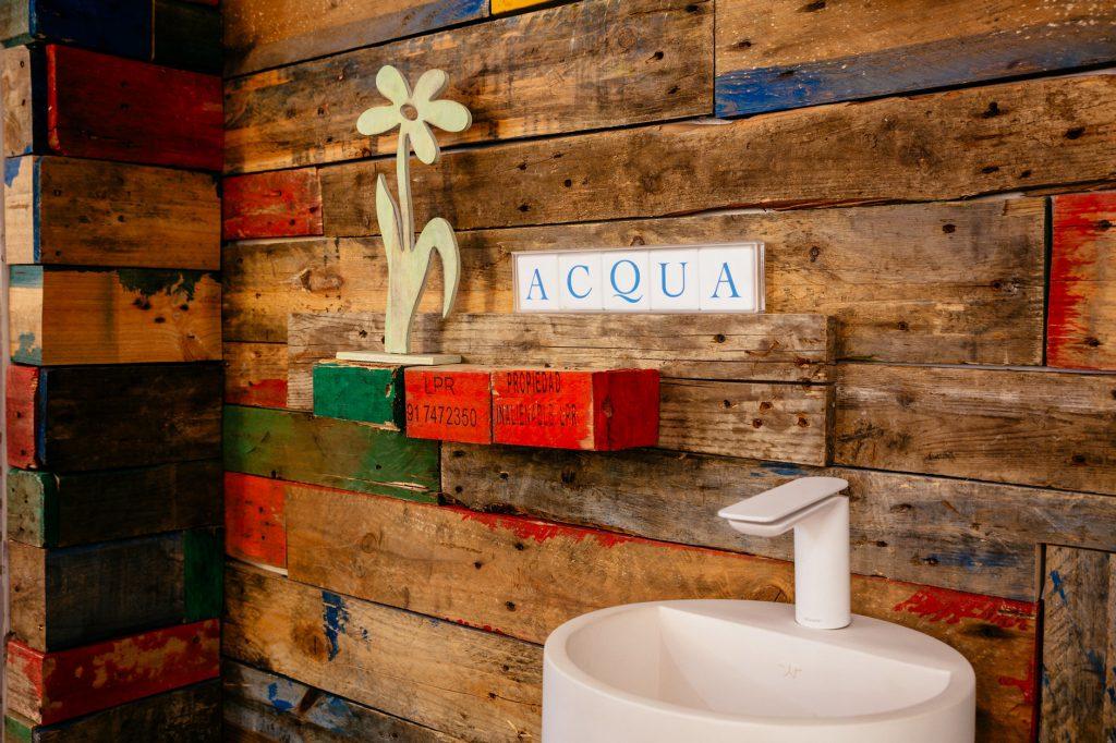 Badezimmer Holzbretter