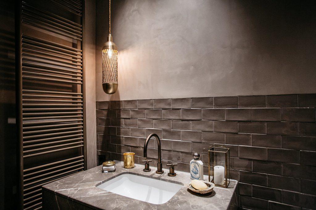Waschbecken Mauer