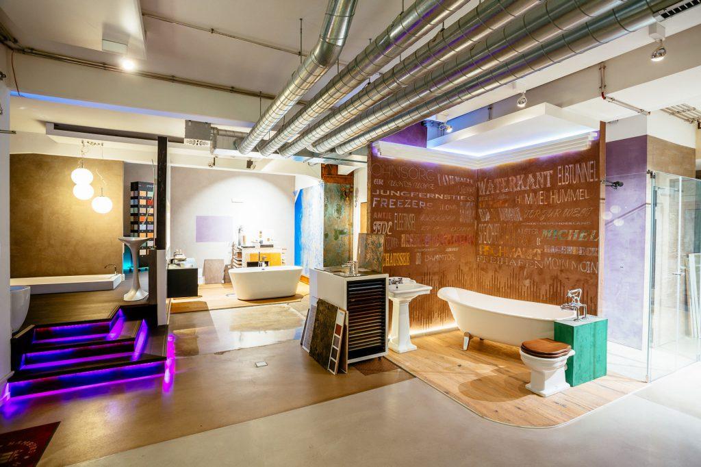 Modernes Badezimmer Ausstellung