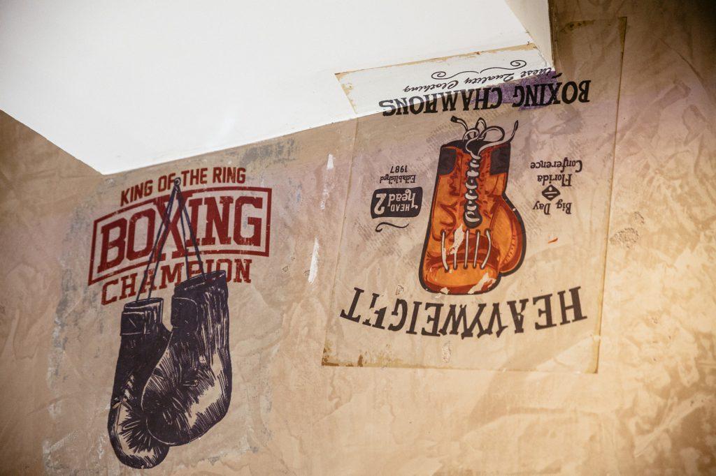Wand Print Boxen